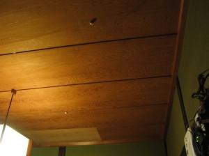居間の天井