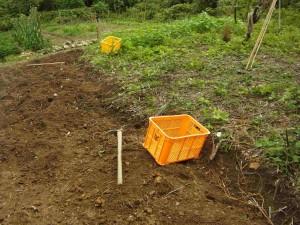 一反畑の開墾
